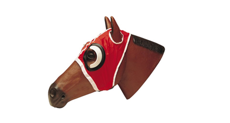 RACING BLINKER & FLY MASK